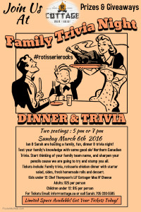 Join us for Family Trivia Night!