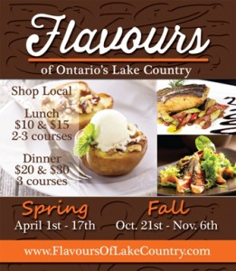 Spring Flavours of Lake Country