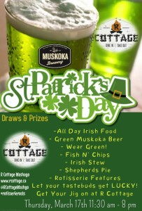 St. Patty's Day at R Cottage